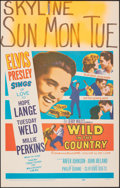 "Movie Posters:Elvis Presley, Wild in the Country (20th Century Fox, 1961). Fine/Very Fine. Window Card (14"" X 22""). Elvis Presley.. ..."