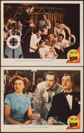 """Movie Posters:Mystery, Song of the Thin Man (MGM, 1947). Very Fine. Lobby Cards (2) (11"""" X 14""""). Mystery.. ... (Total: 2 Items)"""