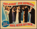 """Movie Posters:Musical, You'll Never Get Rich (Columbia, 1941). Very Fine. Lobby Card (11"""" X 14""""). Musical.. ..."""