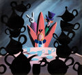 Animation Art:Concept Art, Mary Blair Alice in Wonderland Tea Party Concept Painting (Walt Disney, 1951). ...