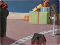 Animation Art:Concept Art, Toy Tinkers Preliminary Background Painting (Walt Disney, 1949). ...