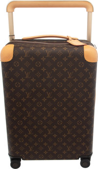 "Louis Vuitton Monogram Coated Canvas Horizon 55 Suitcase Condition: 3 14.5"" Width x 22"" Height x 8"" Depth..."