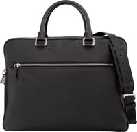 "Louis Vuitton Black Epi Leather Porte-Documents Organizer Condition: 2 14.5"" Width x 11"" Height x"