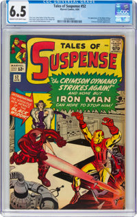 Tales of Suspense #52 (Marvel, 1964) CGC FN+ 6.5 Cream to off-white pages