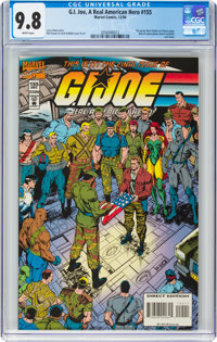 G. I. Joe, A Real American Hero #155 (Marvel, 1994) CGC NM/MT 9.8 White pages