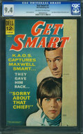 Silver Age (1956-1969):Humor, Get Smart #7 (Dell, 1967) CGC NM 9.4 Off-white to white pages.