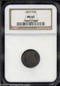 Bust Dimes: , 1821 Large Date MS65 NGC. The current Coin Dealer ...