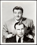 """Movie Posters:Comedy, Abbott and Costello by Ray Jones (Universal, 1941). Very Fine-. Portrait Photo (8"""" X 10""""). Comedy. From the Collection of ..."""
