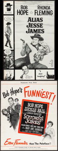 "Movie Posters:Comedy, Alias Jesse James & Other Lot (United Artists, 1959). Fine+. Uncut Pressbooks (2) (Multiple Pages, 11"" X 17"" & 12.25"" X 15"")... (Total: 2 Items)"