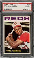 Baseball Cards:Singles (1960-1969), 1964 Topps Frank Robinson #260 PSA Mint 9 - Only Two Higher. ...