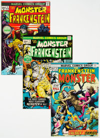 Frankenstein#1-18 Complete Series Group (Marvel, 1973-75) Condition: Average FN.... (Total: 18 Comic Books)