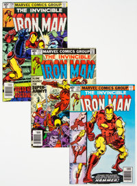 Iron Man Group of 18 (Marvel, 1979-81) Condition: Average VF/NM.... (Total: 18 Comic Books)