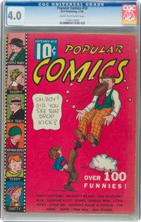 Popular Comics #10 (Dell, 1936) CGC VG 4.0 Cream to off-white pages