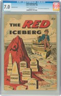 Silver Age (1956-1969):Miscellaneous, The Red Iceberg #nn Explanation Variant (Impact, 1960) CGC...