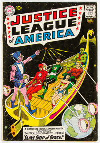 Justice League of America #3 (DC, 1961) Condition: VG