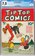 Platinum Age (1897-1937):Miscellaneous, Tip Top Comics #17 (United Feature Syndicate, 1937) CGC FN...
