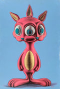 Prints & Multiples, Ron English (b. 1959). Rabbbit #3, early 21st century. Acrylic and screenprint on canvas. 37 x 25-1/4 inches (94 x 64.1 ...