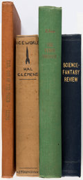 Magazines:Science-Fiction, Science-Fiction Magazines Bound Volumes Group of 4 (Various Publishers, 1929-51).. ... (Total: 4 Items)