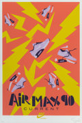 Prints & Multiples, Dan Stiles (20th century). Air Max 90, early 21st century. Digital print in colors on paper. 24 x 16...