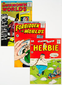 ACG Silver Age Group of 42 (ACG, 1961-66) Condition: Average VG.... (Total: 42 Comic Books)