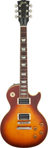 Musical Instruments:Electric Guitars, 1999 Gibson Les Paul Standard Tobacco Solid Body Electric Guitar, Serial #91679329.. ...