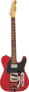 Musical Instruments:Electric Guitars, Circa 2010 Fender Parts-Caster Candy Apple Red Solid Body Electric Guitar, Serial #N/A.. ...