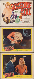 """Movie Posters:Crime, Guns, Girls and Gangsters & Other Lot (United Artists, 1959). Overall: Fine+. Lobby Cards (2) & Title Card (11"""" X 14""""). Crim... (Total: 3 Items)"""