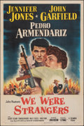 "Movie Posters:Adventure, We Were Strangers (Columbia, 1949). Folded, Fine/Very Fine. One Sheet (27"" X 41""), Title Lobby Card, & Lobby Card (11"" X 14""... (Total: 3 Items)"
