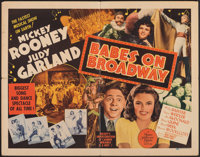 """Babes on Broadway (MGM, 1941). Folded, Fine+. Half Sheet (22"""" X 28""""). Musical"""