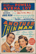 """Movie Posters:Mystery, Another Thin Man (MGM, 1939). Folded, Fine. Australian One Sheet (27"""" X 40""""). Mystery.. ..."""
