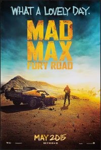 """Mad Max: Fury Road (Warner Bros., 2015). Rolled, Very Fine. One Sheet (27"""" X 40"""") DS Advance. Action"""