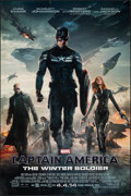 "Movie Posters:Action, Captain America: The Winter Soldier (Walt Disney Pictures, 2014). Rolled, Fine/Very Fine. One Sheet (27"" X 40"") DS Advance. ..."