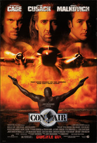 "Con Air & Other Lot (Buena Vista, 1997). Rolled, Overall: Fine/Very Fine. One Sheet (27"" X 40"") & Myla..."