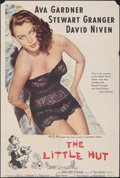 """Movie Posters:Comedy, The Little Hut (MGM, 1957). Folded, Fine. Trimmed One Sheet (27"""" X 40""""). Comedy.. ..."""