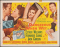 """Movie Posters:Comedy, Dangerous When Wet (MGM, 1953). Folded, Fine+. Half Sheet (22"""" X 28"""") Style A. Comedy.. ..."""