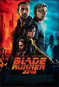 "Movie Posters:Science Fiction, Blade Runner 2049 (Warner Bros., 2017). Rolled, Very Fine+. One Sheet (27"" X 40"") DS Advance. Science Fiction.. ..."