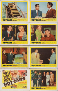 """Hot Cars (United Artists, 1956). Fine/Very Fine. Lobby Card Set of 8 (11"""" X 14""""). Crime. ... (Total: 8 Items)"""