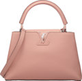 """Luxury Accessories:Bags, Louis Vuitton Magnolia Taurillon Leather Capucines PM Bag . Condition: 1. 12.5"""" Width x 8"""" Height x 4.5"""" Depth. ..."""
