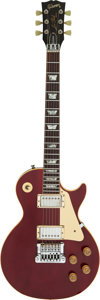 Musical Instruments:Electric Guitars, 1984 Gibson Les Paul Standard Wine Red Solid Body Electric Guitar, Serial #80964577.. ...