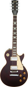 Musical Instruments:Electric Guitars, 1982 Gibson Les Paul Standard Wine Red Solid Body Electric Guitar, Serial #83502559.. ...