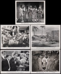 """Movie Posters:Comedy, Abbott and Costello Meet the Mummy (Universal International, 1955). Very Fine+. Photos (5) (8"""" X 10""""). Comedy. From the Co... (Total: 5 Items)"""