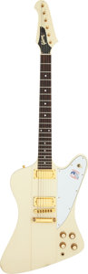 Musical Instruments:Electric Guitars, 1978 Gibson Firebird White Solid Body Electric Guitar, Serial #71718289.. ...
