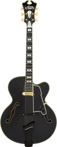 Musical Instruments:Electric Guitars, 1996/1997 Lacey Premier Black Archtop Electric Guitar, Serial #0035.. ...