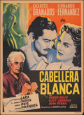 """Movie Posters:Foreign, Caballera Blanca (Azteca Films, 1950). Rolled, Fine+. Mexican One Sheet (27.25"""" X 37"""") Vargas Artwork. Foreign.. ..."""