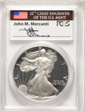 1986-S to 2015-W 29-Piece Silver Eagle Proof Set, PR70 Deep Cameo PCGS. The coins are individually housed in Mercanti Si...