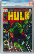 Silver Age (1956-1969):Superhero, The Incredible Hulk #111 (Marvel, 1969) CGC VF/NM 9.0 Off-white pages....