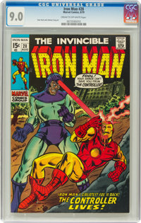 Iron Man #28 (Marvel, 1970) CGC VF/NM 9.0 Cream to off-white pages