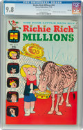 Bronze Age (1970-1979):Cartoon Character, Richie Rich Millions #44 File Copy (Harvey, 1970) CGC NM/MT 9.8 Off-white to white pages....