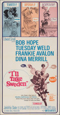 """Movie Posters:Comedy, I'll Take Sweden (United Artists, 1965). Folded, Very Fine-. Three Sheet (41"""" X 79""""). Comedy.. ..."""