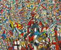 Paintings, Endre Rozsda (Hungarian/French, 1918-1999). Génération d'espoir. Oil on canvas. 19-3/4 x 24 inches (50.2 x 61.0 cm). Sig...